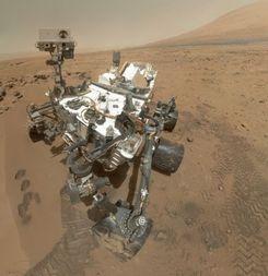 Rover Curiosity: Gibt es Leben auf dem Mars? (Bild: Nasa/JPL-Caltech/Malin Space Science Systems, Mars
