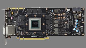Platine der Geforce GTX 980 mit Maxwell-Chip (Bild: Nvidia), Maxwell