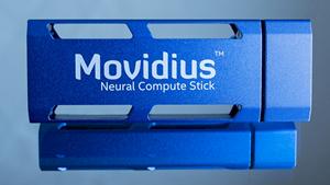 Ein Neural Compute Stick (Bild: Movidius), Movidius