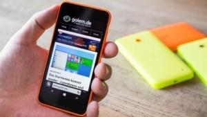Nokias Lumia 635 (Bild: Fabian Hamacher/Golem.de), Nokia Lumia