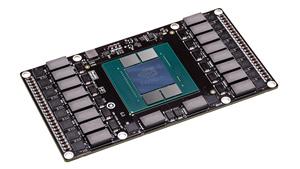 Platinen-Mockup mit Pascal-GPU, Nvidia Pascal