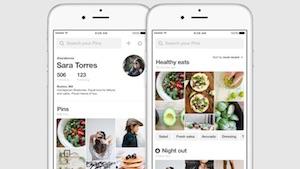 Pinterest: Bilder auf eine virtuelle Pinnwand pinnen (Bild: Pinterest), Pinterest