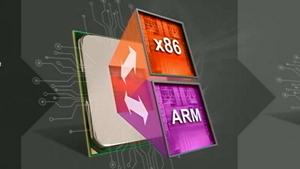 Project Skybridge vereint ARM und x86 (Bild: AMD), Project Skybridge