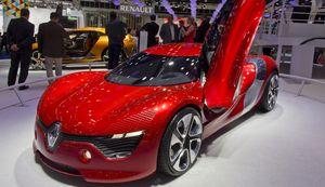 Renult Konzeptstudie Dezir: seit 1999 Allianz mit Nissan (Foto: Werner Pluta/Golem.de), Renault