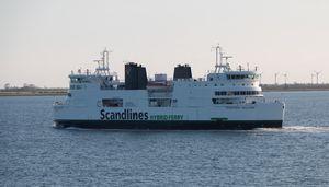 Dänische Fähre mit Hybridantrieb (Foto: Werner Pluta/Golem.de), Schiff