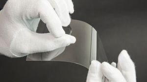 Ultradünnes Glas von Schott (Foto: Martin Wolf/Golem.de), Schott