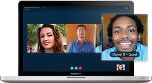 Skype: Kostenlos über das Internet telefonieren. (Bild: Skype), Skype