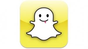Das Logo von Snapchat, Snapchat
