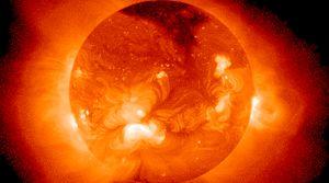 Die Sonne, aufgenommen von einem Röntgenteleskop (Bild: Nasa), Sonne