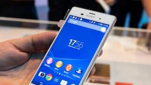 Sonys Topsmartphone Xperia Z3 (Bild: Michael Wieczorek/Golem.de), Sony Xperia Z3