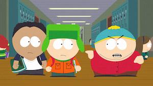 Drei der South-Park-Protagonisten (Bild: Southpark.de), South Park