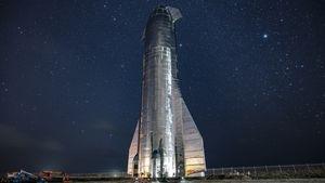 Raumschiff Starship (Bild: SpaceX), Starship