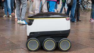 Lieferroboter von Starship Technologies (Foto: Werner Pluta/Golem.de), Starship Technologies