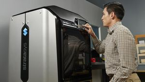 3D-Drucker von Stratasys (Foto: Stratasys), Stratasys