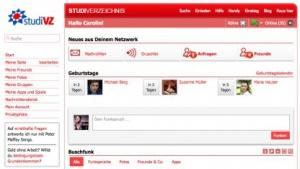 StudiVZ ist kaum noch präsent. (Bild: VZ-Netzwerke), StudiVZ