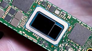 Ultrabook-Platine mit Tiger-Lake-Chip (Bild: Intel), Intel Tiger Lake