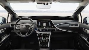 Wasserstoffauto Mirai (Bild: Toyota), Toyota