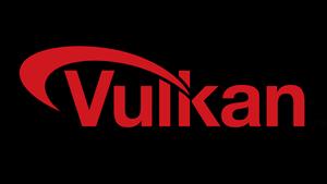 Logo des Vulkan-API (Bild: Khronos Group), Vulkan