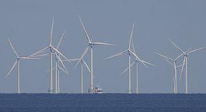 Offshore-Windkraftwerk (Symbolbild) (Bild: Werner Pluta/Golem.de), Windkraft