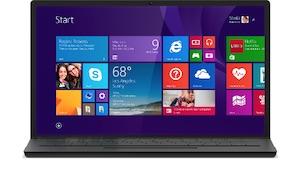 Windows 8.1 am Laptop (Bild: Microsoft), Windows 8.1